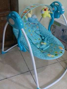 baby swing baby  / bouncer babyelle jogja
