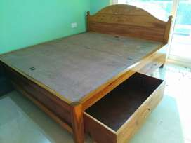 We make wooden box bed and other households furniture