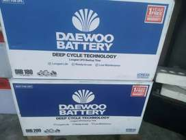 Daewoo DIB-180 New battery free home delivery service available