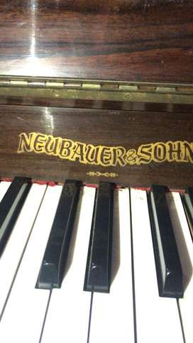 Jual Cepat Piano Jerman Klasik Antik Neubauer&Sohn