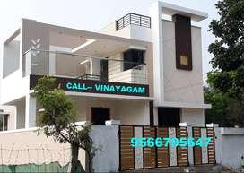 EXCELLENT BUNGALOW for sale at VADAVALLI ( 1 CR.)-Vinayagam