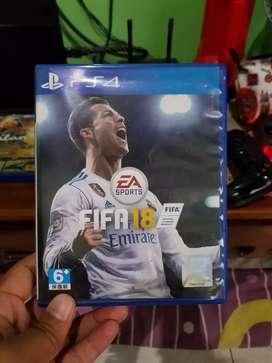 Kaset PS 4 FIFA 18 dan JUST CAUSE 3