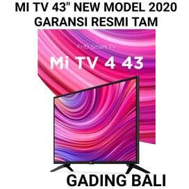 """XIAOMI MI TV 4 43"""" New model 2020 Android Smart TV Garansi Resmi TAM"""