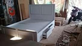 Jual tempat tidur minimalis laci kuat aman