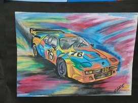 BMW M1 Pop Art