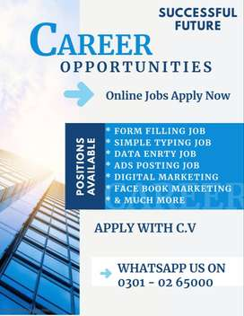 @@ Form Filling - work from home work. @@