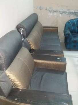 sofa set and bed