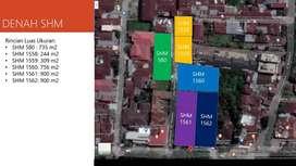 Tanah dan Bangunan Mantap Medan Pasar Merah