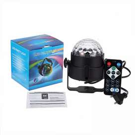 Lampu Led Disco + Remote Control Eu Plug - Multicolor