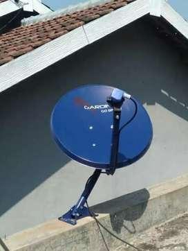 Modo parabola antena mini gambar jernih