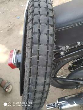 Royal Enfield bullet 350 back tyre , rim, spokes, and tube