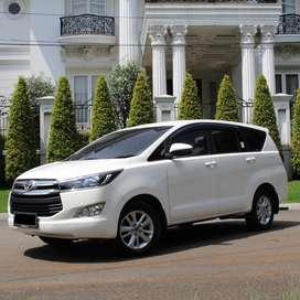 Toyota Kijang Innova Diesel Reborn 2017 White and Brown Full Original