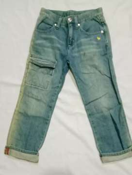 Celana jeans Anak GIORDANO Untuk 6-8tahun