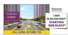 1 bhk flats in Kalyan West - Raunak City Property in Kalyan