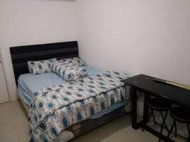 Disewakan Studio Furnish Edelweiss lt Rendah Bassura City Apartemen
