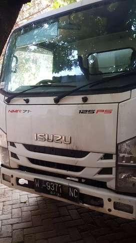 Jual truk Isuzu NMR 71T SDL 2019 (Long sasis bak kayu)