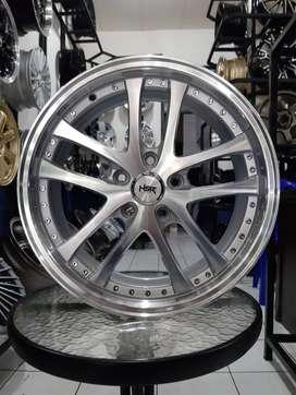 Velg Mobil Celong Ring 17 Baut 5 HSR SHOJI Peleg R17 - GRATIS ONGKIR