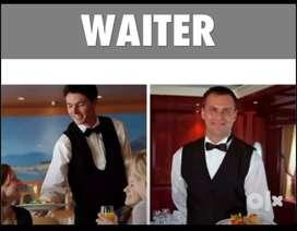 Required 6 Waiter Steward 3 Tebal Boy Helper 4, Kitchen Helper & Cook