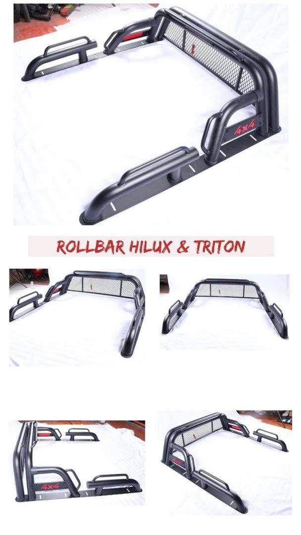 ROLL BAR TRITON GAWANG BAK BELAKANG HILUX 0