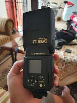 Flashgun Nissin Di866 Mark II for Sony, khusus COD Jogja