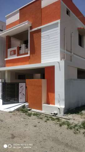 Murali new 3 bhk duplex north facing house sale in saravanampaty