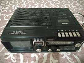 Orion model 7251 japan made 1980 cassette recorder tv radio all in one