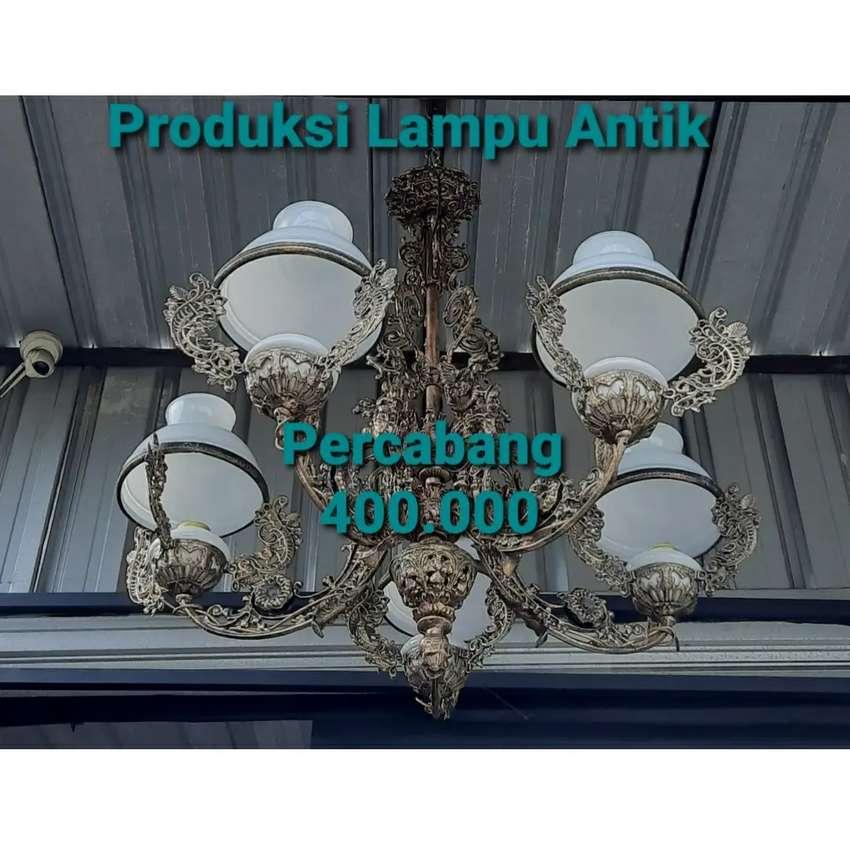 Lampu Gantung Antik Klasik Produksi Sendiri Cabang 5 0