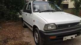 Maruthi 800 with premium look