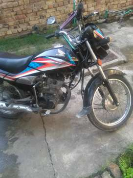 Honda 125dream blak color