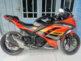 Kawasaki Ninja 250 FI ABS SE Orange