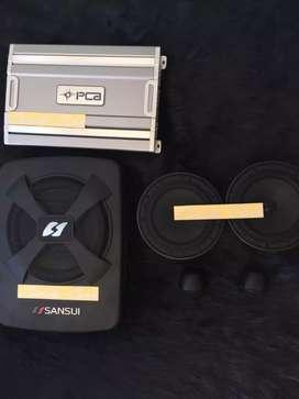 ^^ Speaker 2way Tandav , Power PCA , Subwoofer Sansui