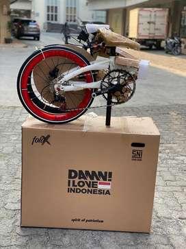 New Sepeda Lipat Element Z11 Fold X Lite 11Sp X Damn I Love Indonesia
