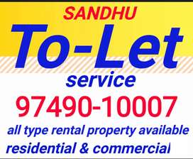 Furnished & Unfurnished commercial space availabel