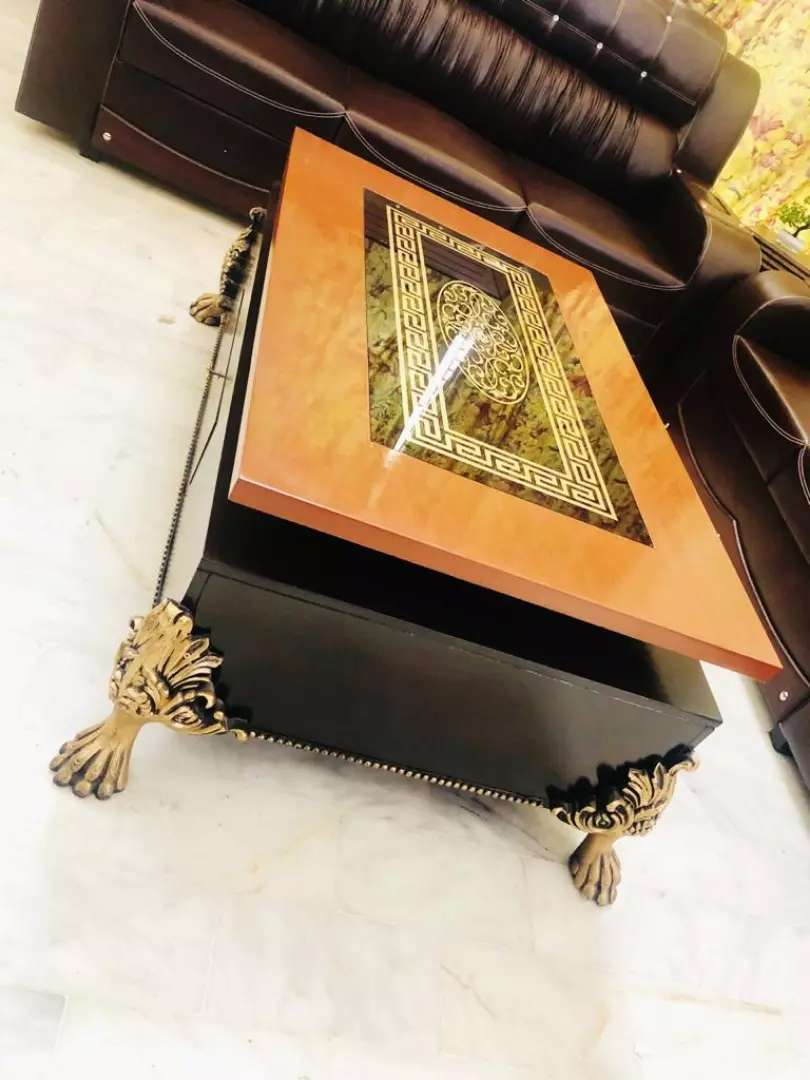 kalamkaar Branded center table few months used all home furniture 0