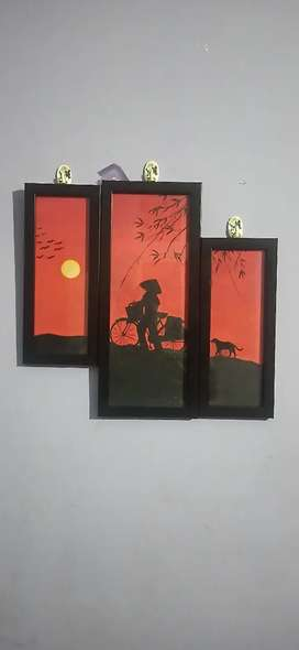 Acrylic handmade painting
