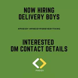 Hiring Delivery Agents