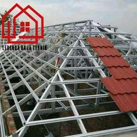 Menerima pemasangan rangka atap baja ringan dan Renovasi