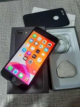 jual iphone 8+ 256gb mulus lengakp bisa tt