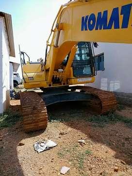 Excavator PC210LC 2018 Model on rent