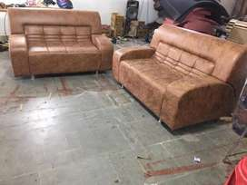 We make 3 seater and 6 seater SOFA best quality in MAHADEV  FURNITURE