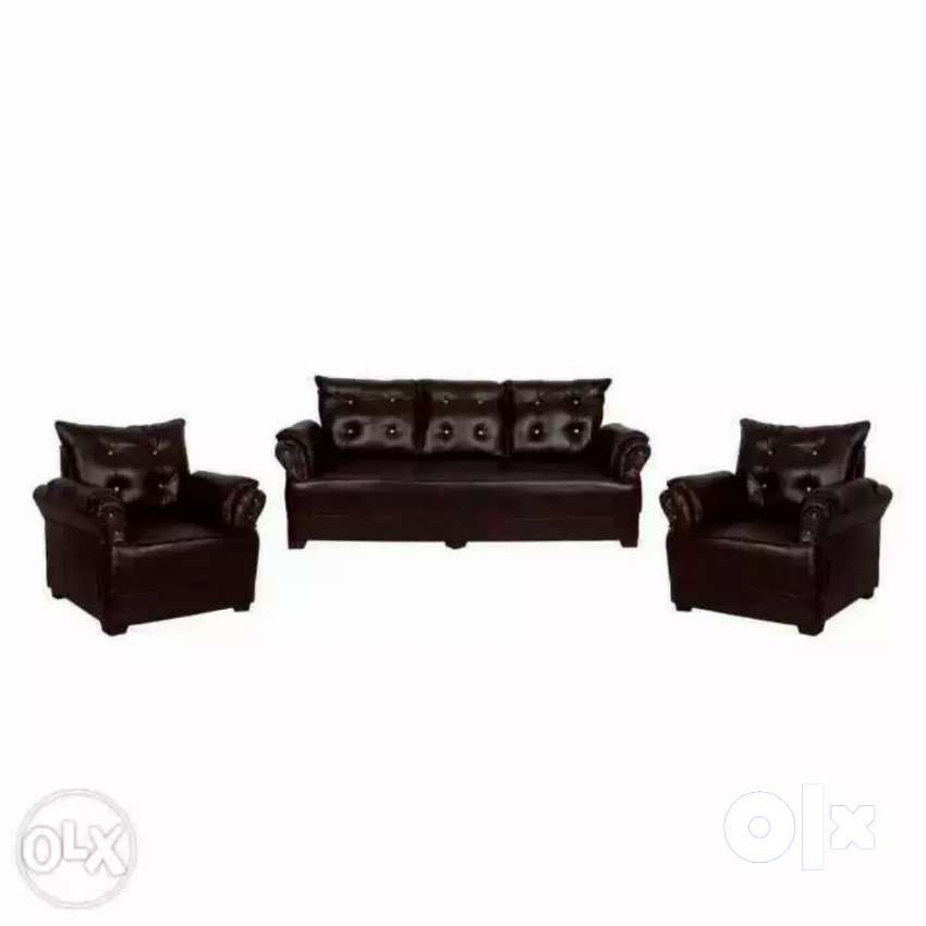 Delivery free::brand new sofa 0