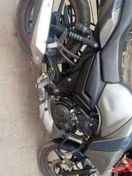 Its TVS Apache 160 RTR with front disc brake !