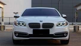 BMW 520D Turbo Diesel 2014 WHITE 520i e200 e250