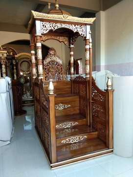 mimbar masjid model tangga