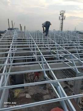 Bongkar pasang atap baja ringan