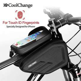 CoolChange Tas Sepeda Waterproof Smartphone 6.2 Inch - 12023