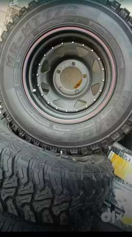 JTH Jeep MT, AT, LT Radial Tyres For Sale