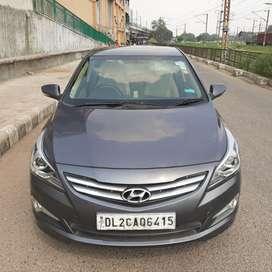 Hyundai Fluidic Verna 1.6 VTVT SX, 2015, Petrol
