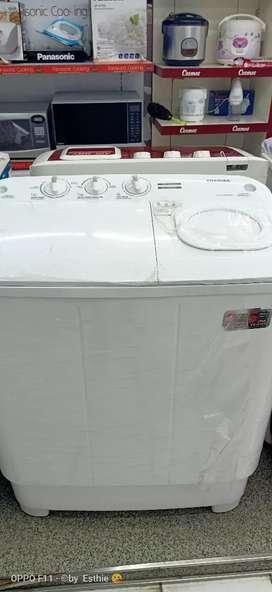 Mesin cuci kredit nya dan bunga 0% 2 tabung