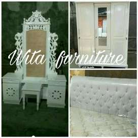 bed set kayu cantik wita furniture